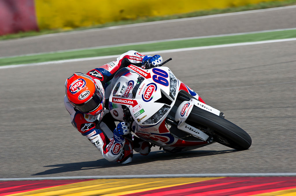 2014 Aragon - Michael van der Mark