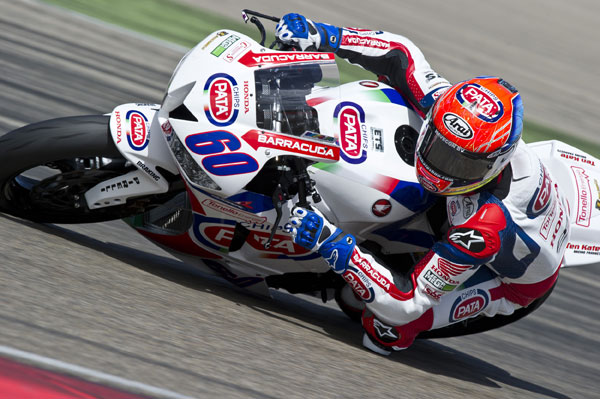 VAN DER MARK IN SPANISH SUPERSPORT MIX