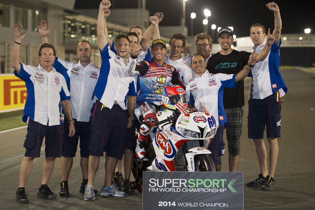 2014 Losail - Michael van der Mark