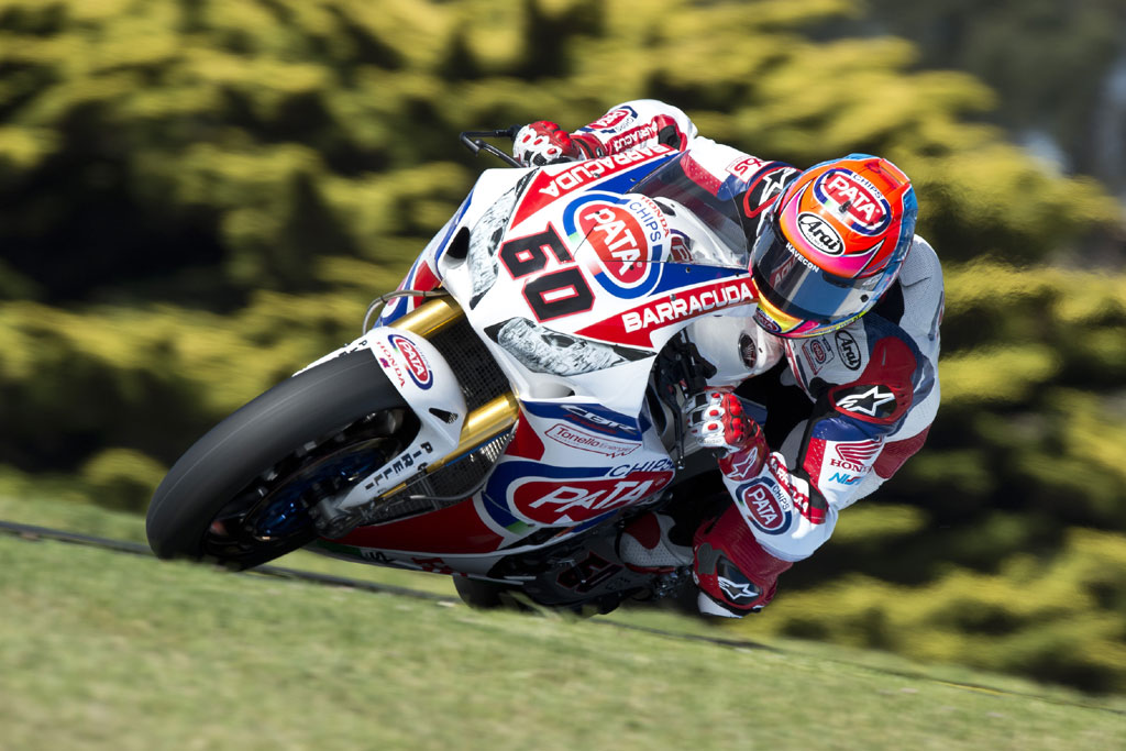 2015 Phillip Island test - Michael van der Mark