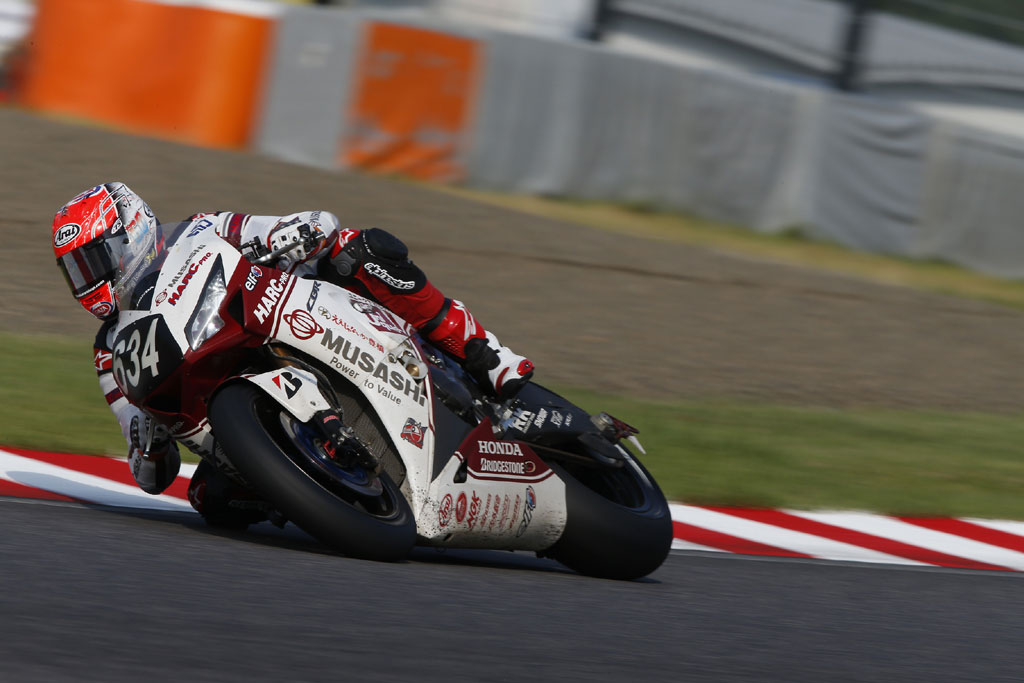 Michael van der Mark Suzuka 2014