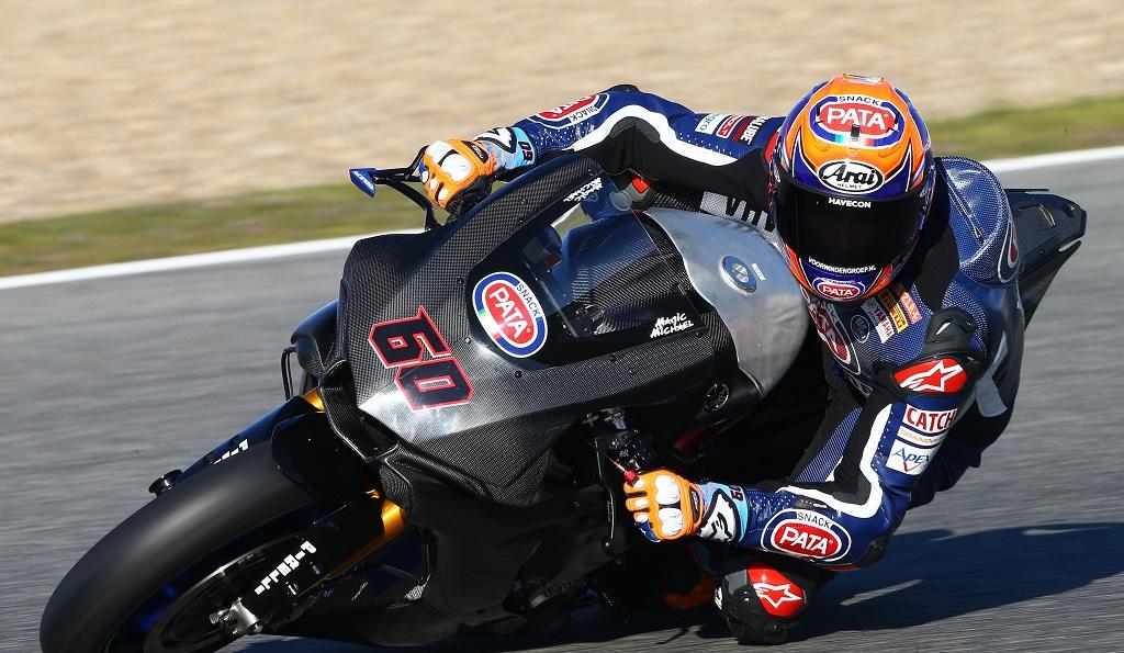 Michael van der Mark 2017 Jerez test