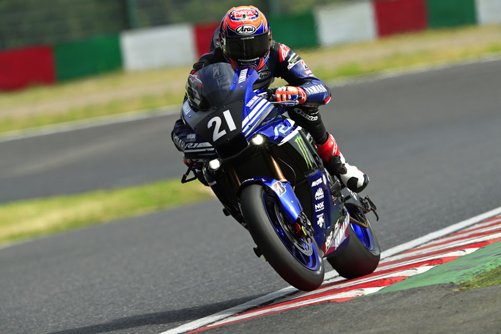 2017 Suzuka test – Michael van der Mark